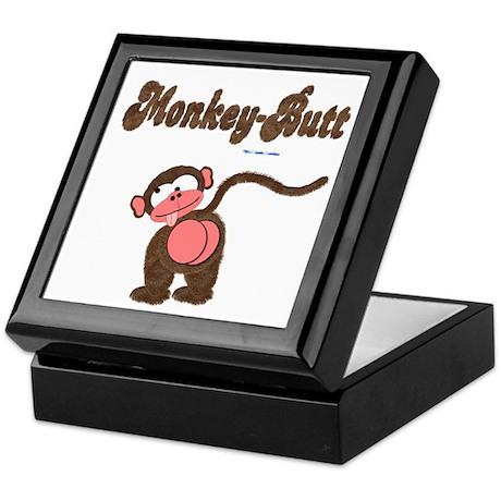 Monkey-Butt Keepsake Box