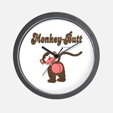Monkey-Butt Wall Clock