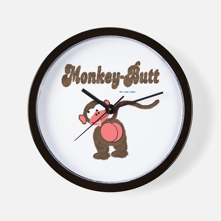 Monkey-Butt Wall Clock