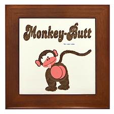 Monkey-Butt Framed Tile