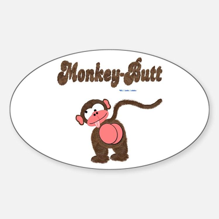 Monkey Butt Stickers Monkey Butt Sticker Designs Label