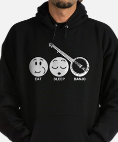 Eat Sleep Banjo Hoodie (dark)