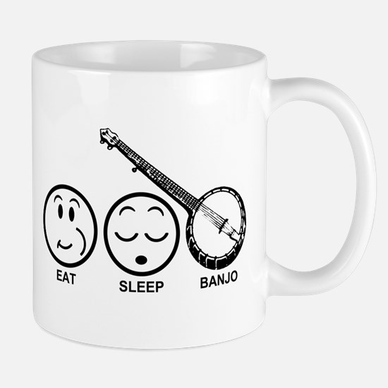 Eat Sleep Banjo Mug