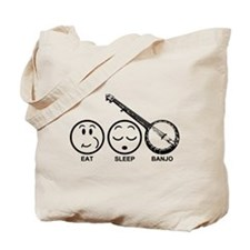 Eat Sleep Banjo Tote Bag