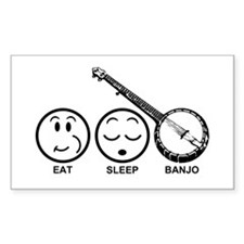 Eat Sleep Banjo Decal
