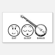 Eat Sleep Banjo Decal