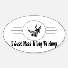 Hump Oval Decal