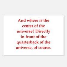 funny astronomy joke Postcards (Package of 8)