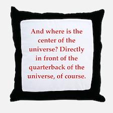 funny astronomy joke Throw Pillow