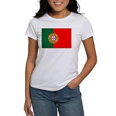 Portuguese Natonal Flag Women's T-Shirt
