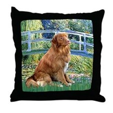 Lily Bridge & Nova Scotia... Throw Pillow
