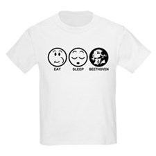Eat Sleep Beethoven T-Shirt