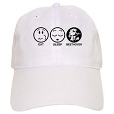Eat Sleep Beethoven Baseball Cap