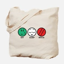 Eat Sleep Bocce Tote Bag