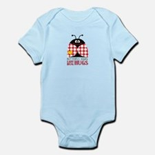 Madeleine, the Ladybug Infant Bodysuit