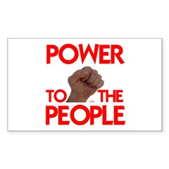 POWER TO THE PEOPLE IIII Decal