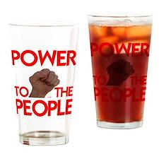 POWER TO THE PEOPLE IIII Drinking Glass