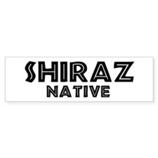 Shiraz Native Bumper Bumper Sticker