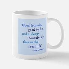 Good Friends Good Books Mug