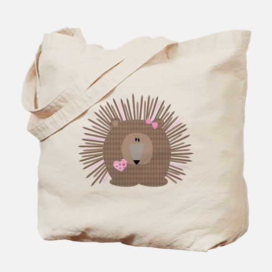 Fiona, The Porcupine Tote Bag