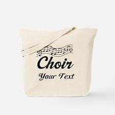 Custom Choir Musical Tote Bag