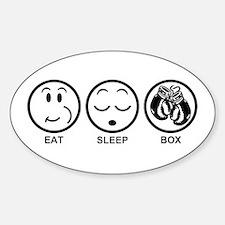 Eat Sleep Box Decal