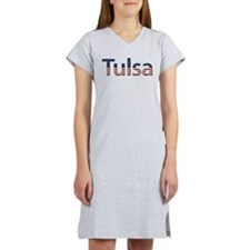 Tulsa Stars and Stripes Women's Nightshirt