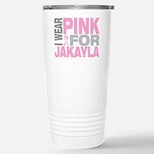 I wear pink for Jakayla Travel Mug