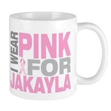 I wear pink for Jakayla Mug