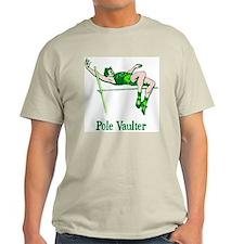 Pole Vaulter Ash Grey T-Shirt