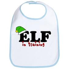 'Elf In Training' Bib
