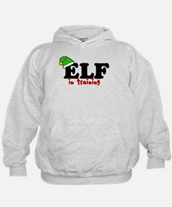 'Elf In Training' Hoodie