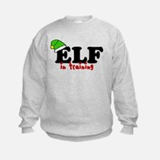'Elf In Training' Sweatshirt