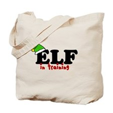 'Elf In Training' Tote Bag