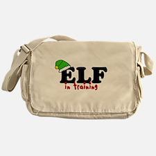 'Elf In Training' Messenger Bag