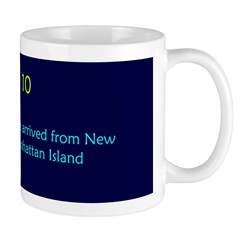 Mug: First Dutch settlers arrived from New Jersey