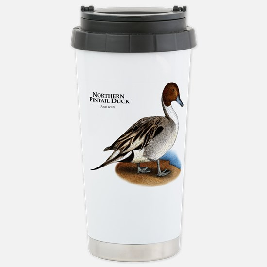 Northern Pintail Duck Stainless Steel Travel Mug