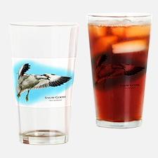 Snow Goose Drinking Glass