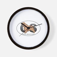 Cocker Spaniel Union Wall Clock