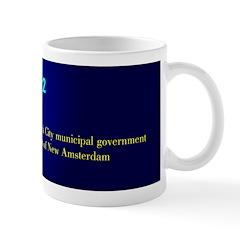 Mug: England installed the New York City municipal