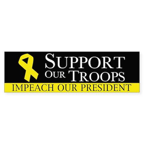 Impeach our President Sticker