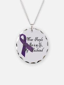 Wear Purple for my Hero Necklace
