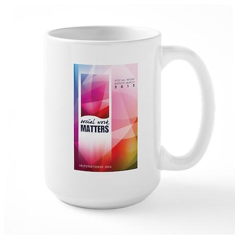 Social Work Matters Large Mug