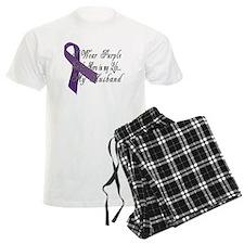 Wear Purple for my Hero Pajamas