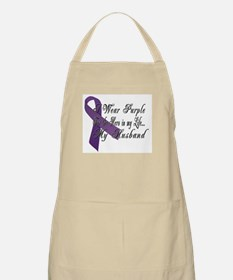 Wear Purple for my Hero Apron