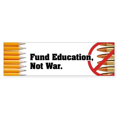 Fund Education Not War