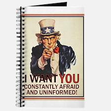 Afraid & Uniformed Journal