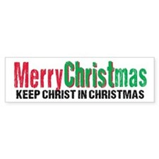 Merry Christmas KCds Bumper Sticker