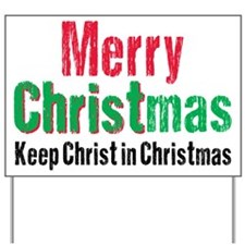Merry Christmas KCds Yard Sign