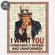 Afraid & Uniformed Puzzle
